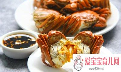 吃螃蟹不能吃什么水果