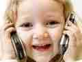 孩子常用手机发短信有损智力